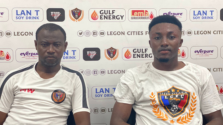 Post match words from Wahid Mohammed and Richmond Antwi