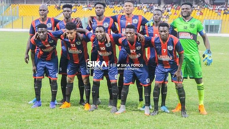 The Royals Defeat: Aduana Stars Win Over Legon Cities Football Club