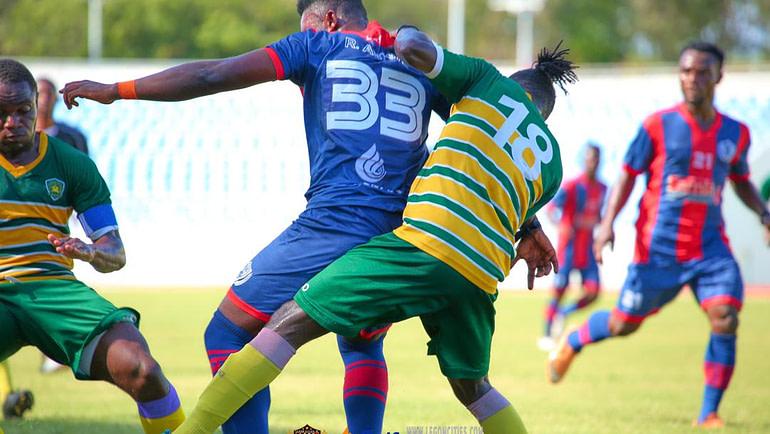 Legon Cities declared winners of matchday 23 clash against Ebusua Dwarfs in Cape Coast.