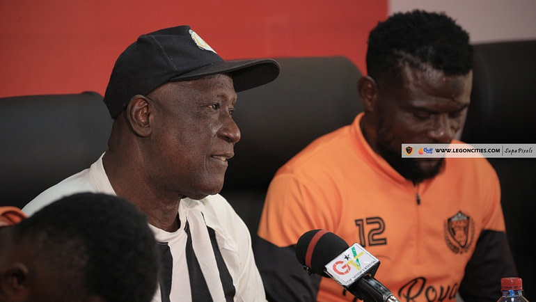 LEGON CITIES PRESS CONFERENCE AHEAD OF HEARTS OF CLASH