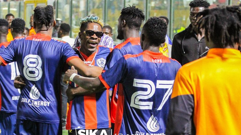 Shatta Wale Declares His Support to Legon Cities FC