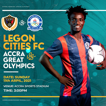 Match Preview | Legon Cities vs. Great Olympics